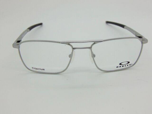 da1f52178a New OAKLEY GAUGE 5.2 TRUSS OX5127-0351 Satin Chrome Titanium 51mm Rx  Eyeglasses