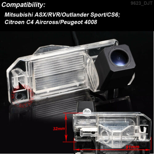 Car Reverse Camera for Mitsubishi ASX RVR Outlander Sport CS6 Citroen C4 Peugeot