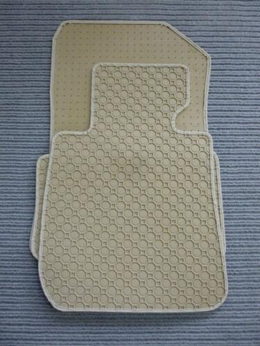 Fußmatten BEIGE NEU $$$ Original Lengenfelder Gummimatten für Tesla Model S