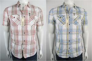 Diesel-Herren-Hemd-Shirt-Spowar-Camicia-Overhemd-Neu