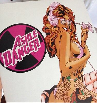 NEW! ASHLE DANGER /HOODRATZ IN SPACE #2 Special Edition Signed By Erik Reeves