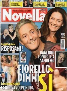 Laura Forgia Calendario.Details About Novella 2017 41 Rosario Fiorello Meghan Markle Claudio Baglioni Laura Forgia