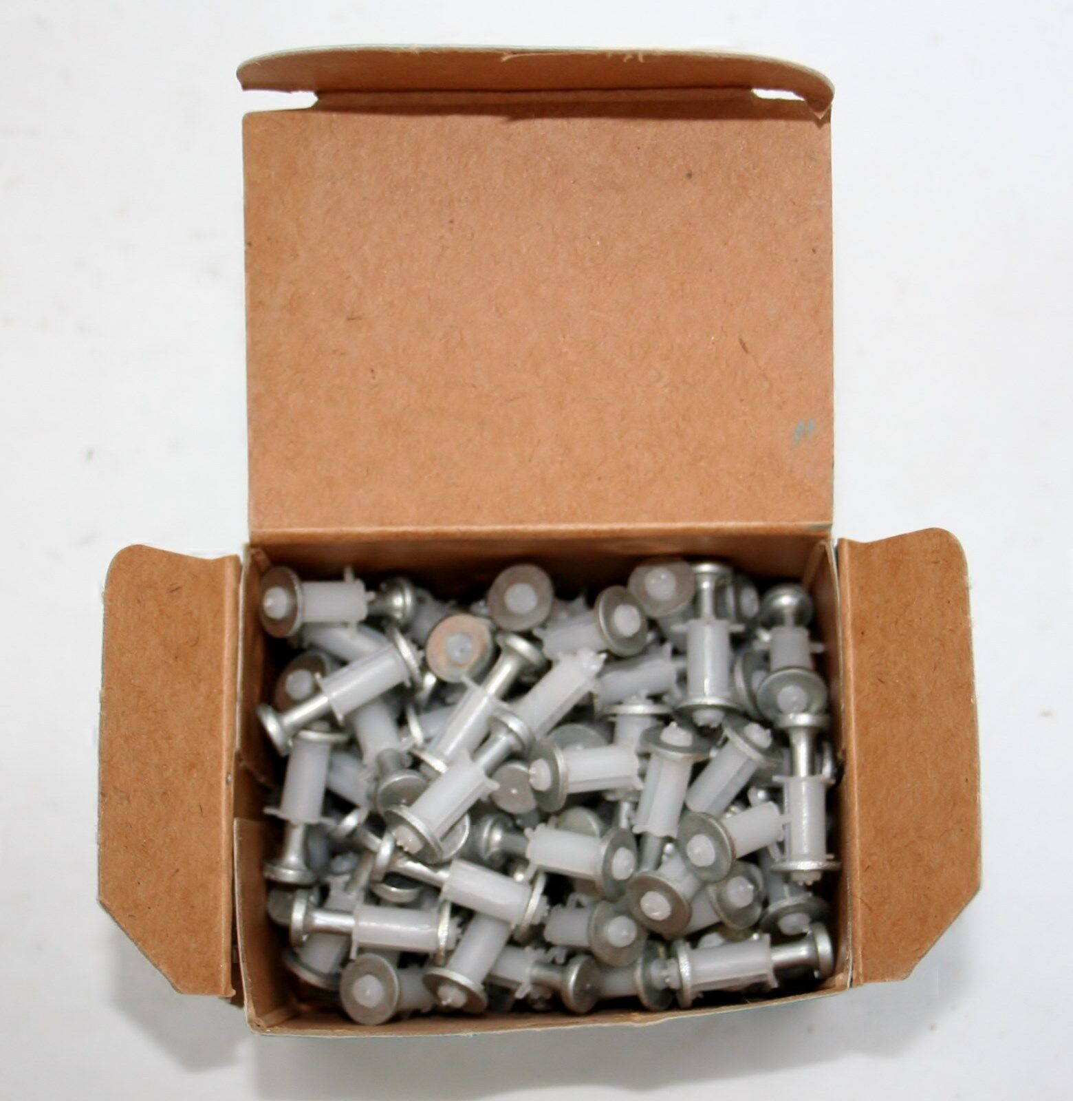 (100) Star Piston Pin Steel Fastener Nails for Powder Actuated Tools - 3/4