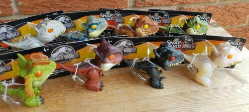 Jurassic World Snap Squad Choose Indominus Rex,T Rex Dilophosaurus,Carnotaurus
