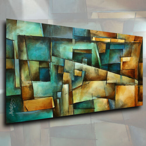 Abstract Art Modern CONTEMPORARY Giclee Canvas Print Michael Lang Painting