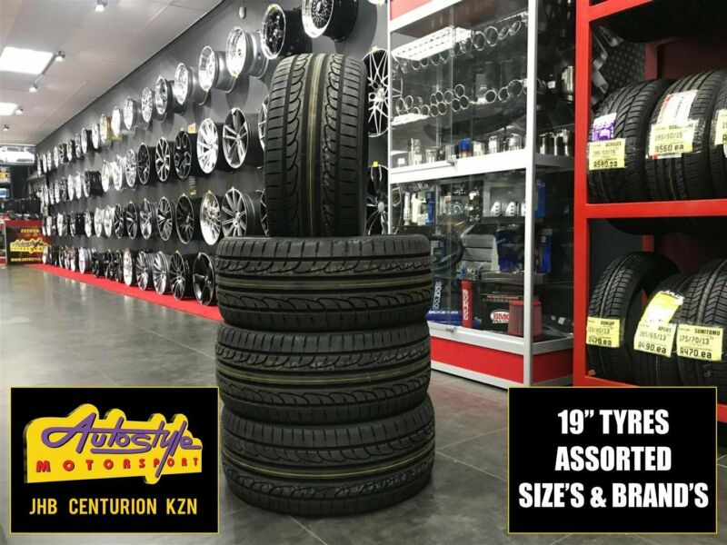 Tyres brand new 19 inch 235 35 19 from R950  Other sizes available. We beat any price. Open 7 days.