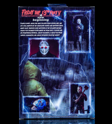 "NECA Friday The 13th parte V Jason Voorhees 7/"" Action Figure Giocattolo Modello Collection"