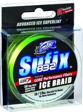 Sufix Performance Ice Fuse Smoke Blue 50yd 10lb Test Fishing Line 666-010SB