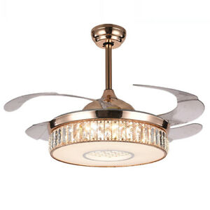 Image Is Loading 42 034 LED Invisible Ceiling Fan Light Modern