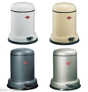 wesco design mülleimer baseboy 8 liter treteimer fürs bad oder bio, Badezimmer