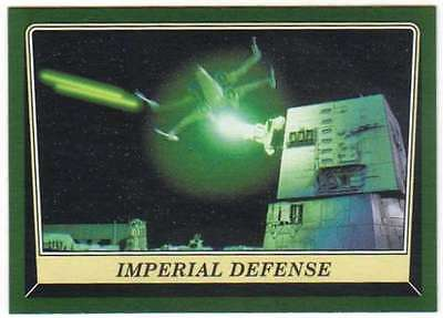 2016 Topps Star Wars Rogue One Mission Briefing Black #55 Imperial Defense