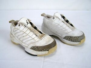 Nike-Air-Jordan-23-White-Leather-Upper-Sneakers-Shoes-Toddler-Boy-Size-8C