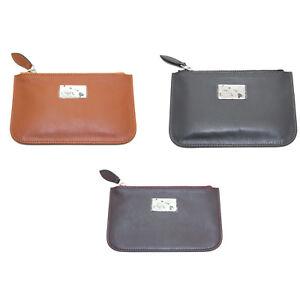EMPORIO-ARMANI-Women-039-s-034-2012-034-Zip-Top-Coin-Purse-Wallet-YEMG99-195-NWT