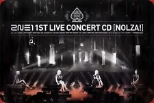 2NE1 - Nolza! (1st Live Concert Album) OFFICIAL POSTER *HARD TUBE CASE* K-POP