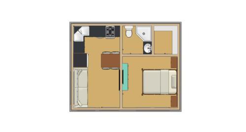 ala cart Tiny House design 320sqft 16/'x20/'e 1bedrms1bath