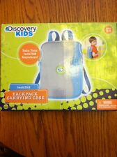 New Discovery Kids Techtab Backpack Carrying Case Gray Blue Tablet, KSD5077