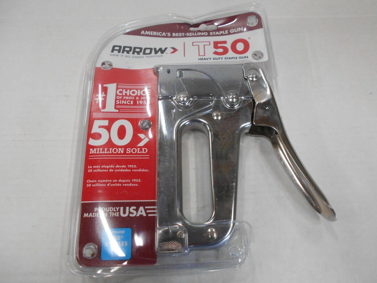 *ARROW FASTENER CO-STAPLER MODEL T50 FREE SHIPPING