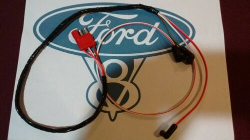 67 Ford Mustang v8 Engine Gauge Feed Wiring Harness 390 427 428
