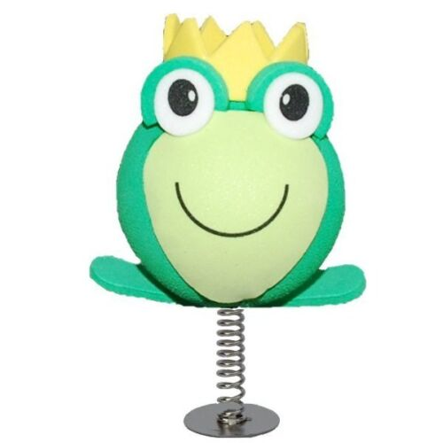 WOBBLER! Cute Frog Prince perfect for sticking on your Desk or Dashboard