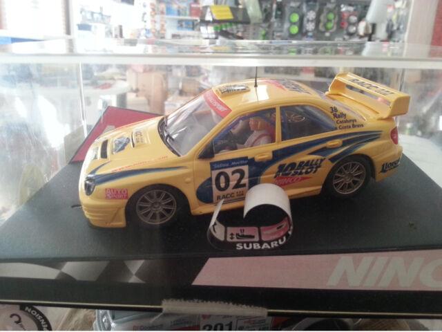 "NINCO 50257 SUBARU IMPREZA WRC ""CATALUNYA COSTA BRAVA 2002""  OF.DRIVERS  LTED.ED"