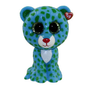 TY Beanie Boos Mini Boo Collectible Figure - LEONA the Blue Leopard ... f2853619136