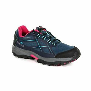 Regatta Kota Low Kids Girls Waterproof Walking Hiking Shoes Blue RRP £50
