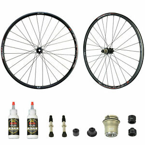 "Sun Ringle Black Flag Bicycle Tubeless Ready Wheelset 27.5"" 15x100/12x142mm"