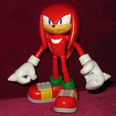 Big 7 17cm Super Poser Jazwares Knuckles Echidna Sonic Hedgehog Figure Toy Sega Ebay