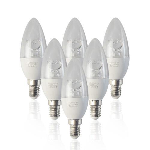 12//6x Bombilla LED Velas SES E14 ROSCA PEQUEÑA 3W 5W 6W 8W Blanco cálido//frío