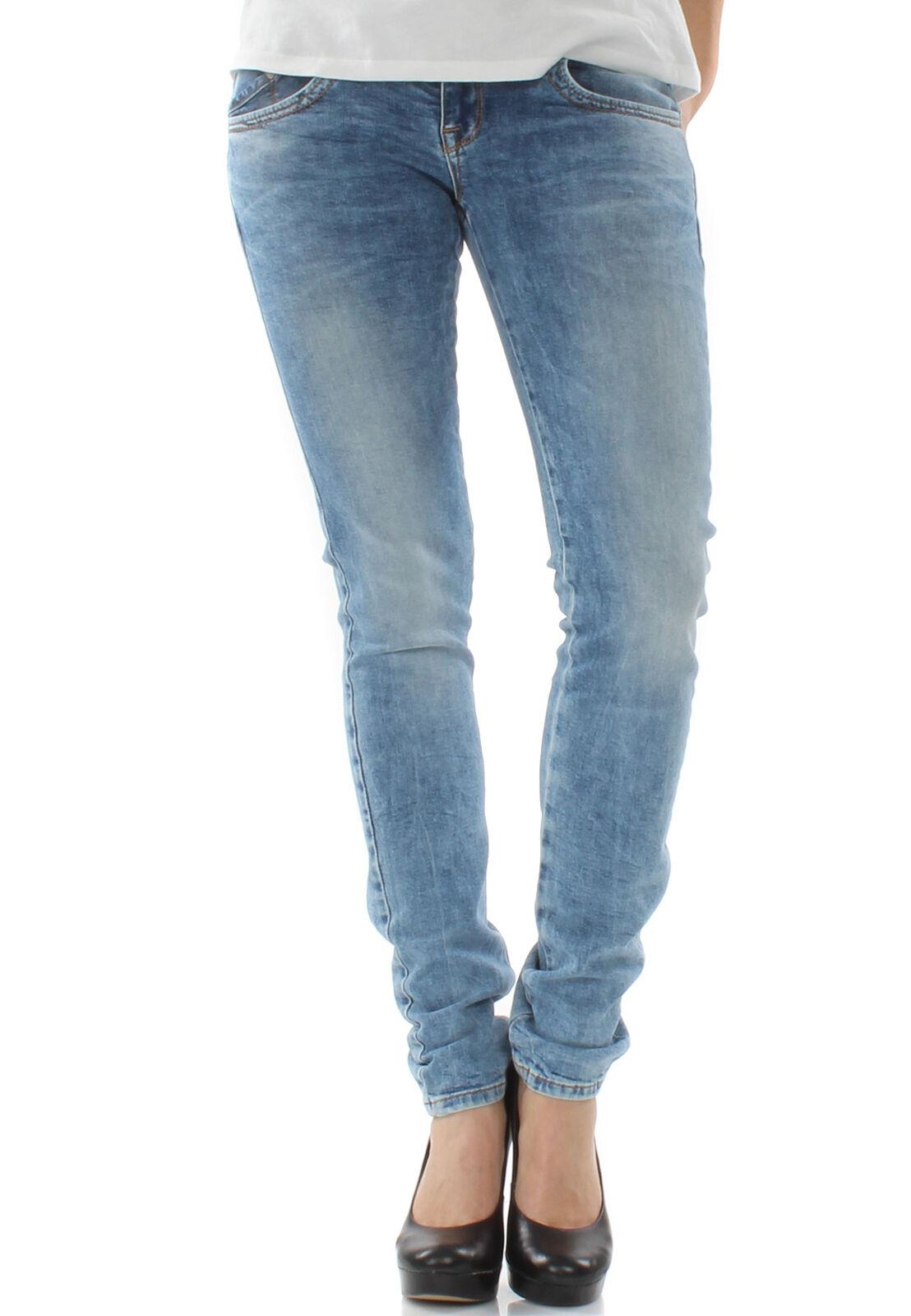 Ltb Jeans Ladies Molly Myra Wash Light bluee