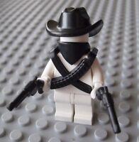 Custom BANDIT GUNSLINGER Accessory Pack for LEGO Minifigures Western Cowboy