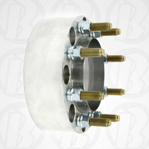 """2 MADE IN USA 8 x 200mm To 8 x 200mm HUB CENTRIC Wheel Adapters  2/"""" Spacers"""