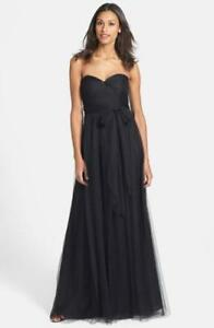 d1d10b72ac3 Image is loading JENNY-YOO-ANNABELLE-CONVERTIBLE-TULLE-COLUMN-DRESS-GOWN-