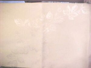 Vintage-machine-drawnwork-embroidered-TABLECLOTH-OFF-WHITE-EXQUISITE