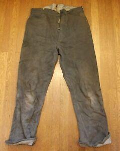 Levi-Strauss-1890s-RARE-Spring-Bottom-Pants-Blue-Jeans-Levi-039-s-Denim-Mining