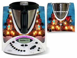 Details About Thermomix Sticker Decal Code Festive11