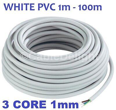 13 Amp 3 Core 1.5mm Cable Eléctrico Alambre interior de red flexible 3183Y Por Metro