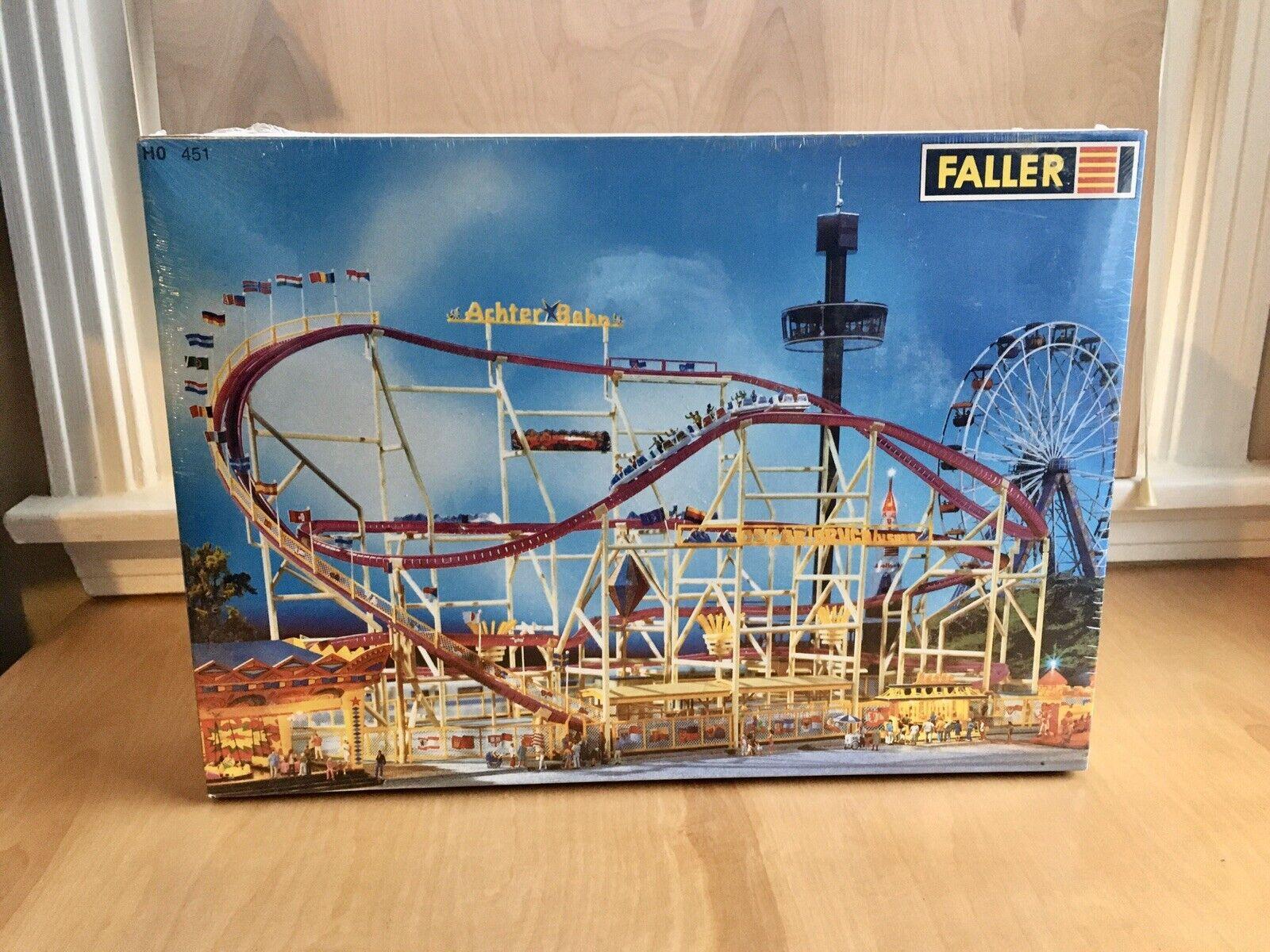 Ftuttier Achter Bahn Roller Coaster HOScale  140 451 CircusFair nuovoSealed