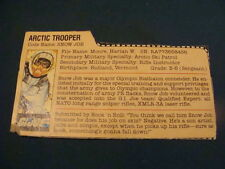 Snow Job Gray Back  File Card  GI Joe 1983