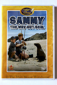 The-Wonderful-World-of-Disney-Movie-Family-Comedy-Sammy-the-Way-Out-Seal-on-DVD