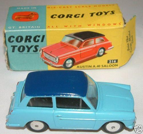 CORGI TOYS   Austin A40 Saloon No. 216   (R)
