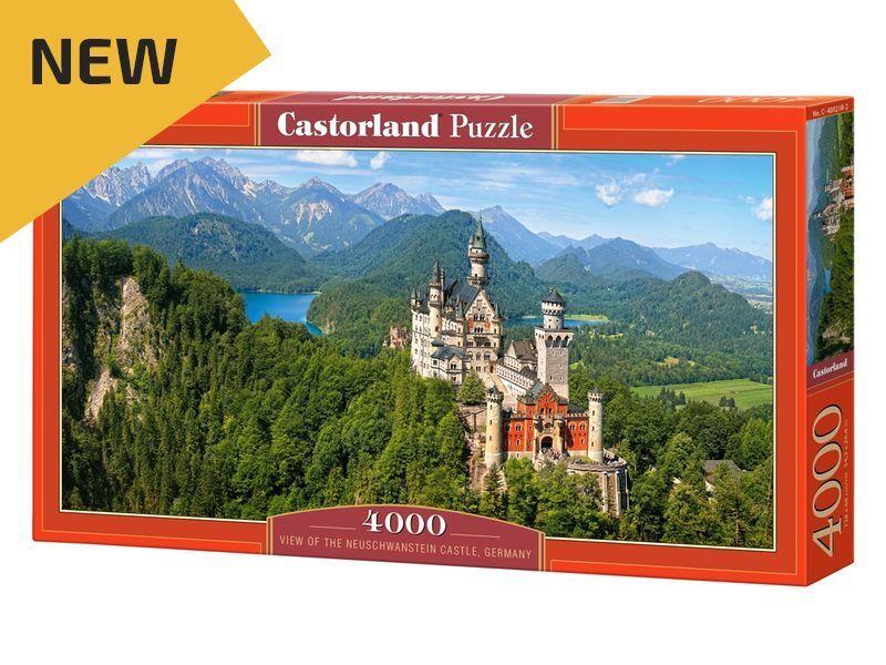 CASTORLAND PUZZLE 4000 pièces Neuschwanstein Castle 54 x27  Boîte Scellée C-400218