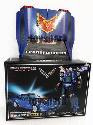 EXCLUSIVE COIN for Takara Transformers Masterpiece MP-25 TRACKS Chevrolet STOCK