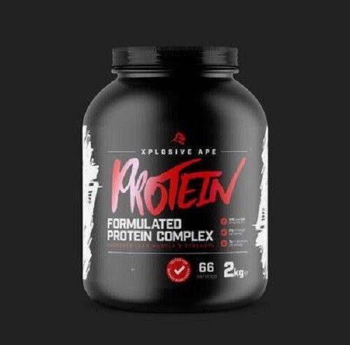 XPLOSIVE 66 APE PROTEIN 2kg - 66 XPLOSIVE servings (Informed-Sport Approved) 0bb3e6