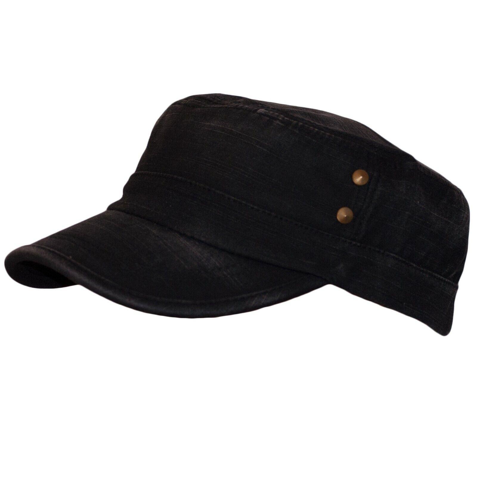 Baseballmutze Military Hat Mens Cadet Slider Hat Bat Hat Shield Cap