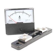 Analog Amp DH-670 75mV Panel Amperemeter Strom Meßgerät DC 0-30A + Shunt
