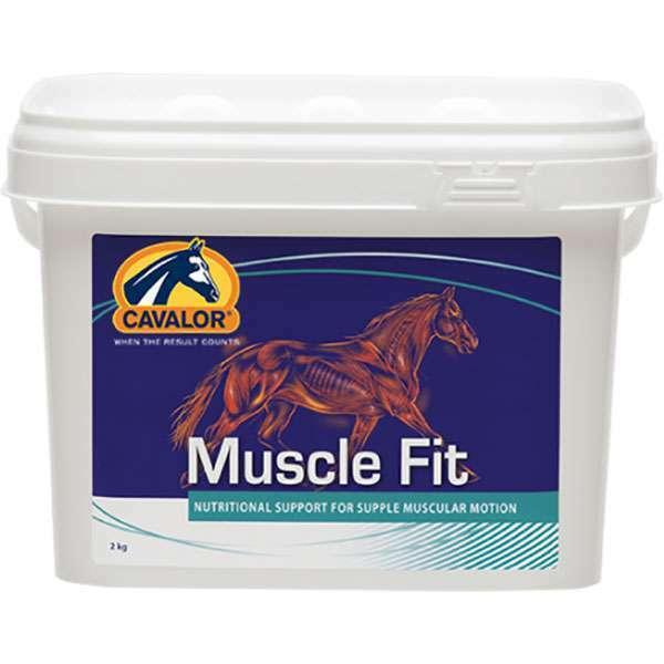 Cavalor Muscle  Fit 2 kg Eimer Ergänzungsfuttermittel für gelenkige Muskeln  is discounted
