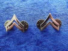 (A8-158) US Rangabzeichen Metall Corporal