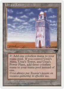 MTG Urza Land NM Tower Plains Magic the Gathering Chronicles