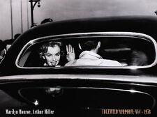Corbis Bettmann Marilyn Monroe & Arthur Miller at Idlewild Airport NYC Poster